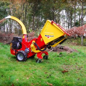 Wood Chippers - Self Propelled