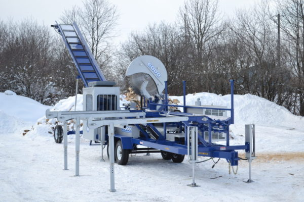 ForestQuip - 6000 Series Firewood Processor